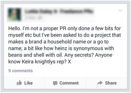 Proper PR